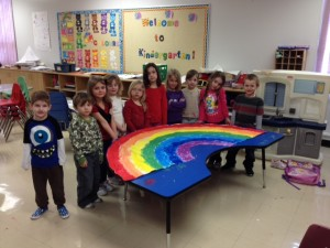 Roland Elementary Rainbow Project
