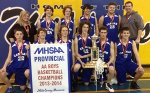 Cougar Provincial Champs