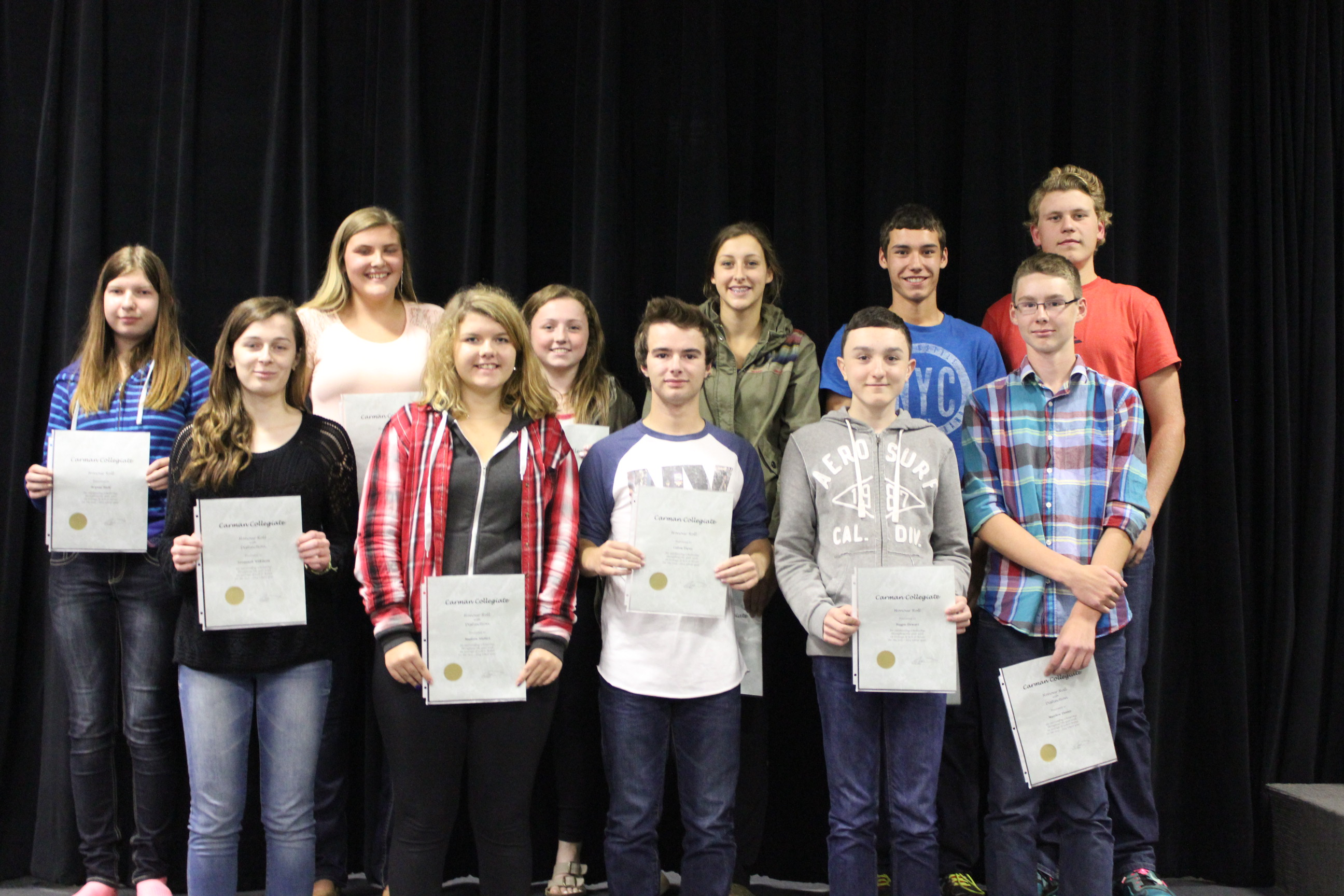 2014 09 18 - CC Honour Roll Students1
