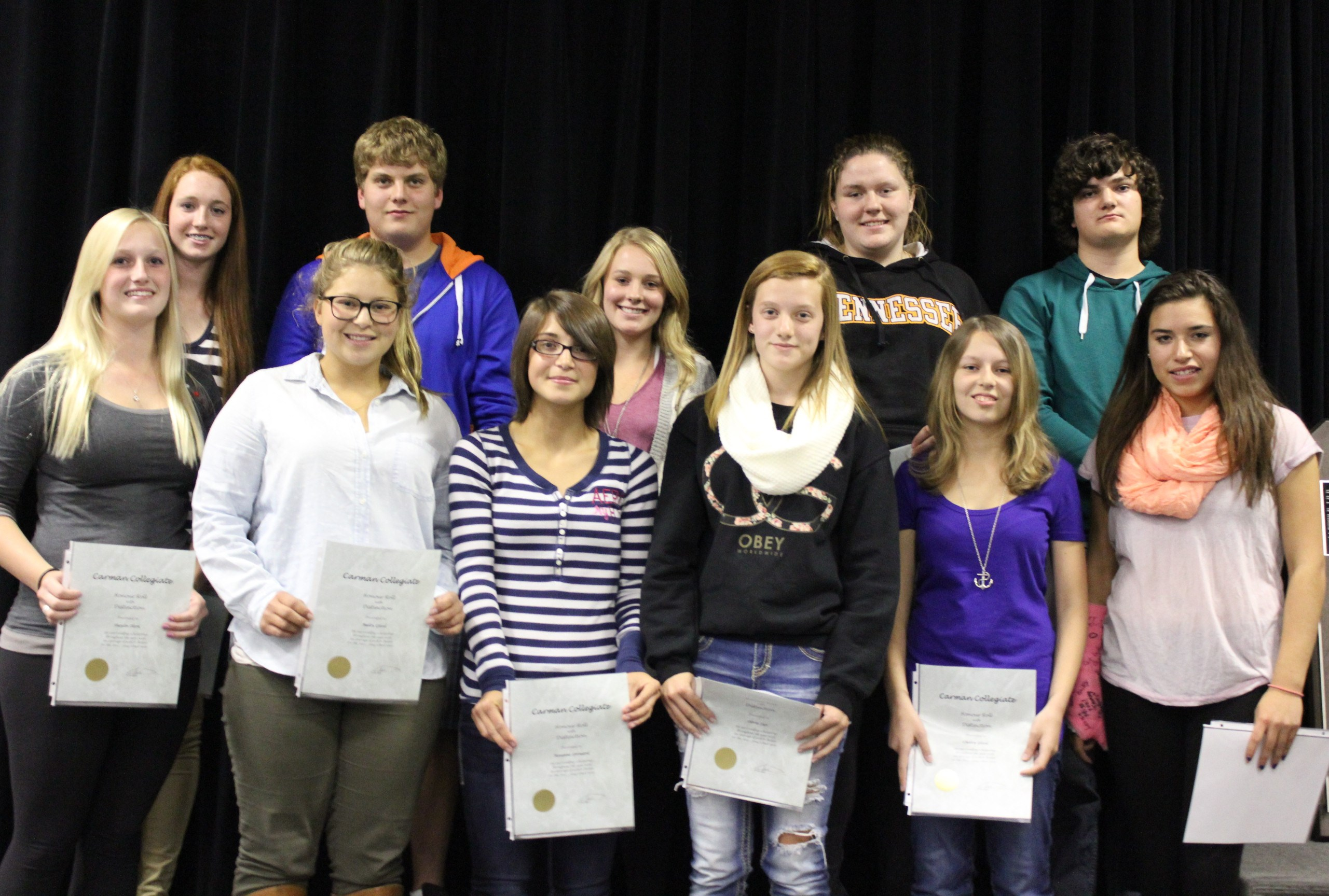 2014 09 18 - CC Honour Roll Students2