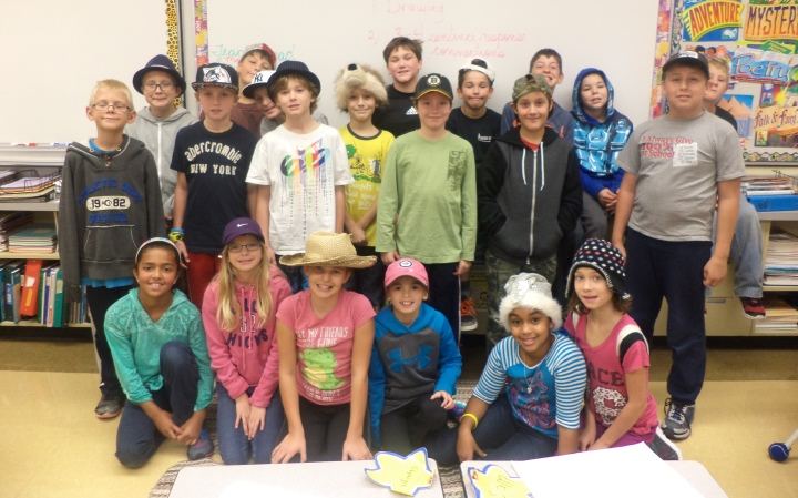 Hat and Gum Day at Carman Elementary