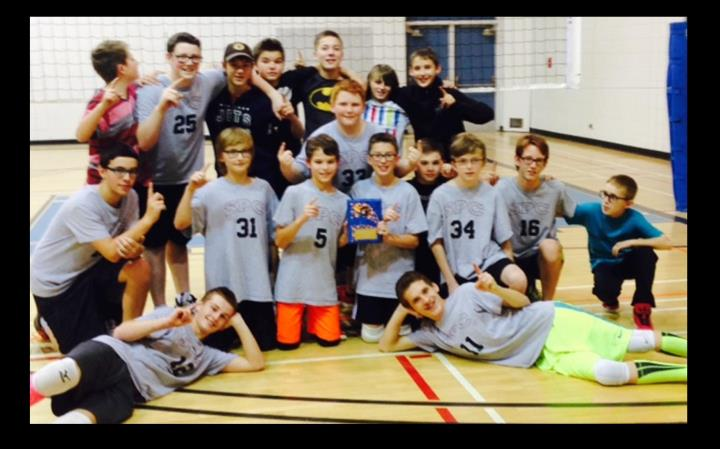 Grade 7 and 8 Boys at St. Paul's Collegiate Win Divisional Championship