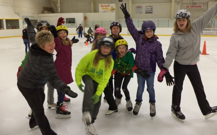 Skating Week at Carman Elementary