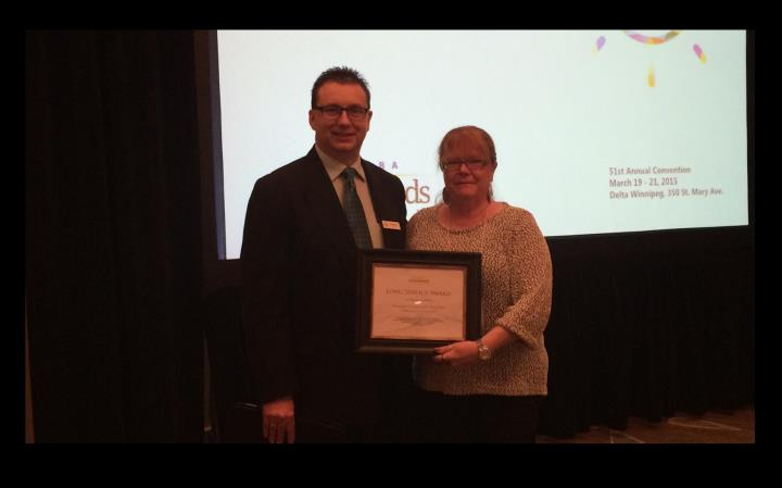 Congratulations to Colleen Claggett Woods on 16 Years of Service