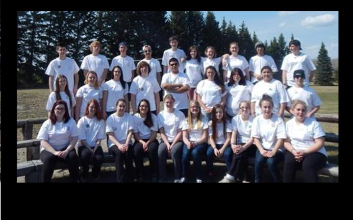 Elm Creek Students attend Co-op Youth Leadership Camp