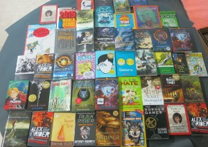 2015 06 29 - 01Selection of Books Ordered