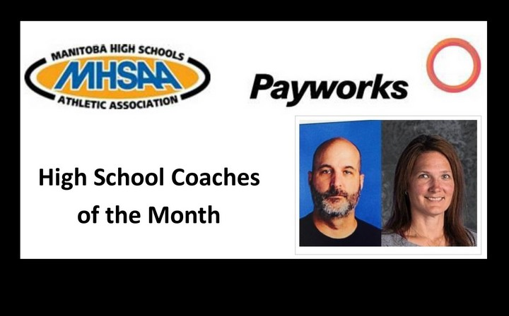 PRSD Staff selected as Payworks High School Coaches of the Month