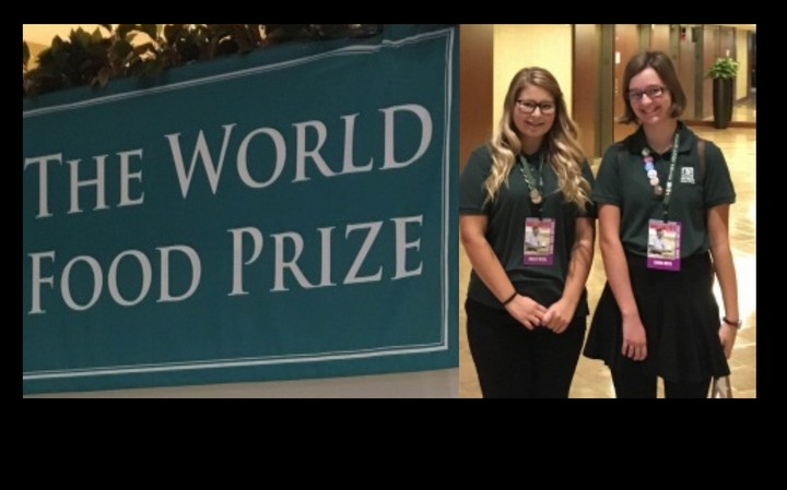 PRSD Students Represent MB at World Food Conference