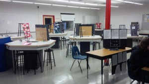 Space Science Fair in the new Science Lab