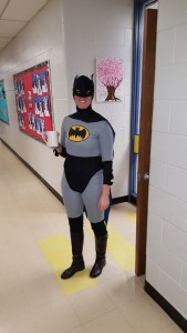 Super Hero Day at Roland School