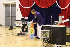 Dr Seuss Magic Show at Elm Creek School
