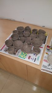 Pottery at Roland school
