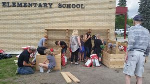 Carman Elementary Raised Flower Beds1