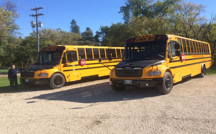 PRSD welcomes 3 new buses to the fleet!!!