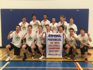 Cougars Provincial Volleyball Champs