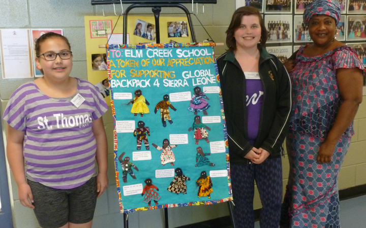 World Awareness Day at Elm Creek School
