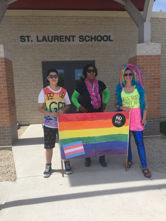 St. Laurent School Pride March