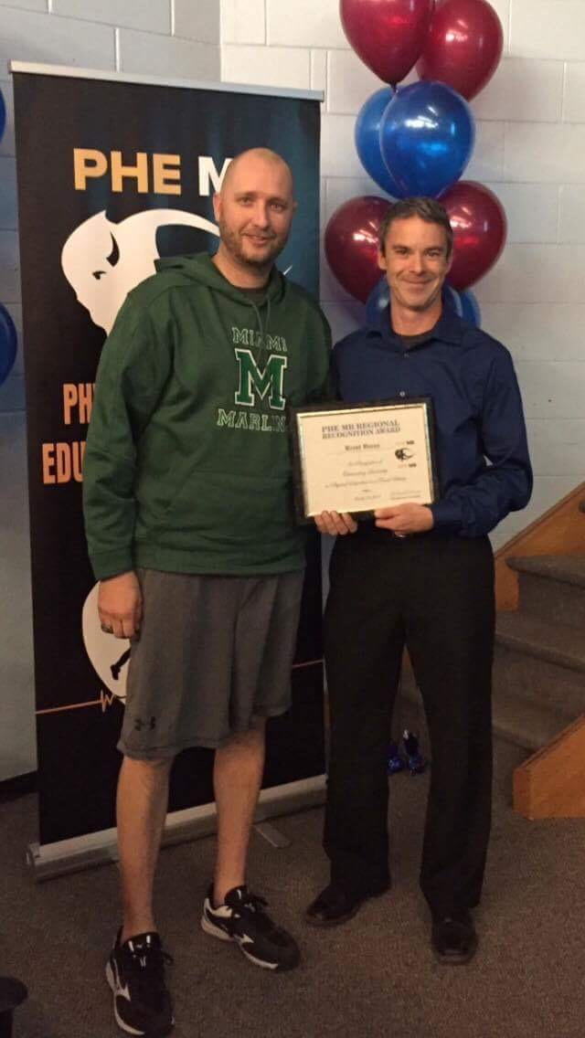 Mr. U wins recognition award