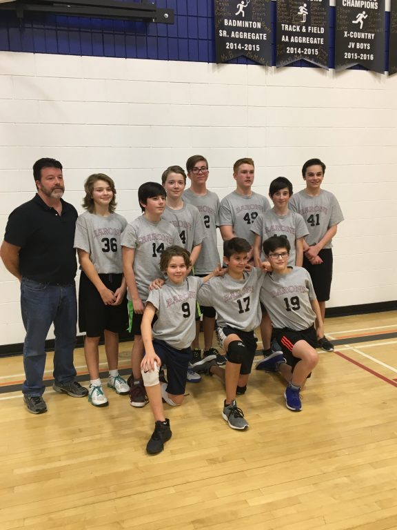 St. Paul's Grade 8 Boys win PRSD Divisional Volleyball Championshi