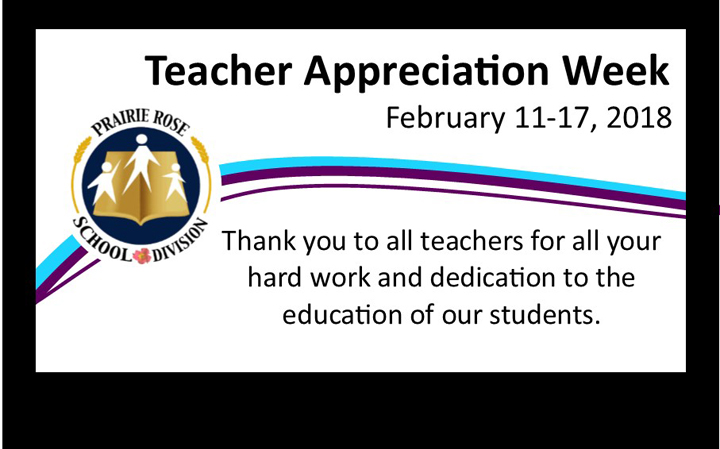 Thank you PRSD Teachers