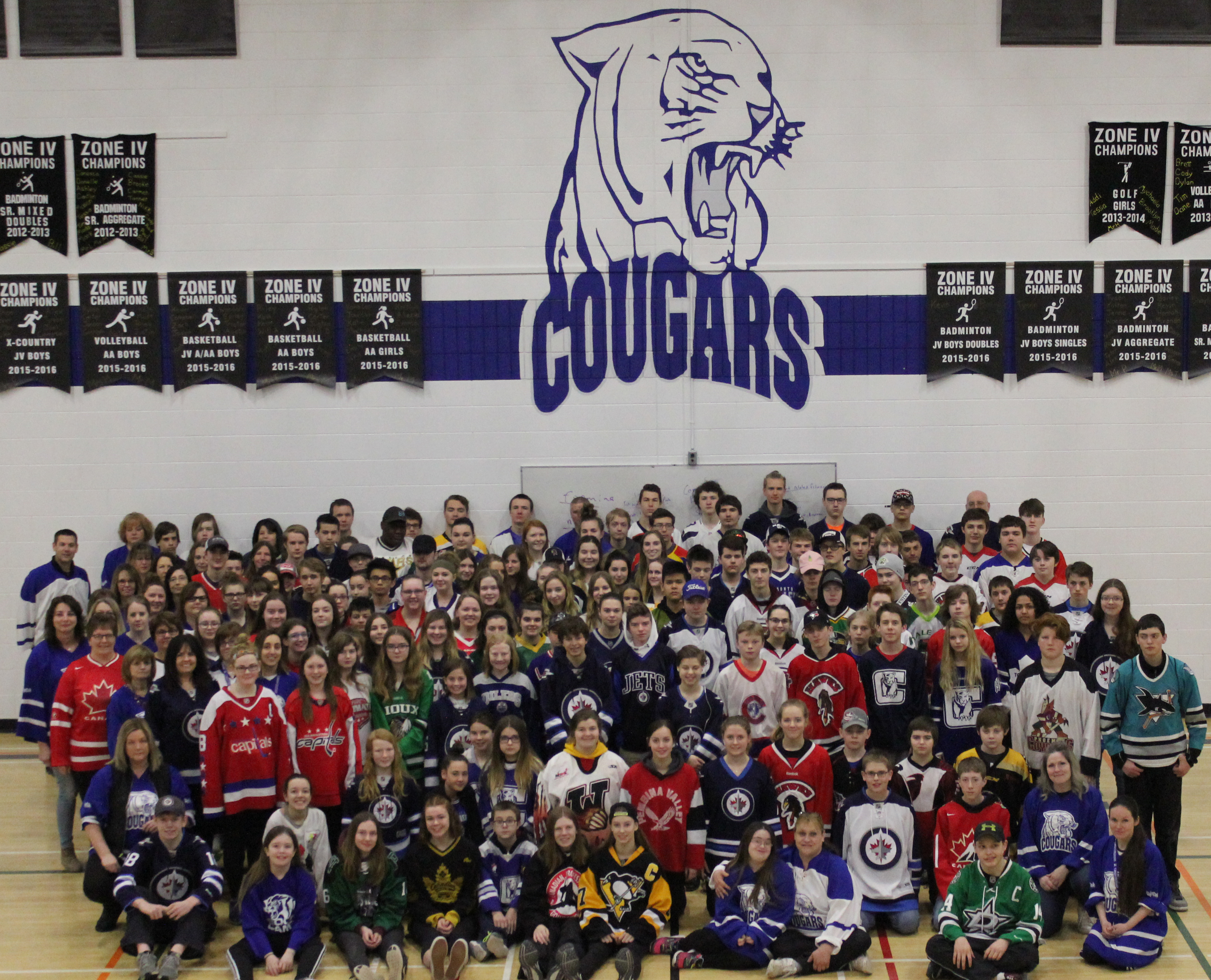 Carman Collegiate Jersey Day