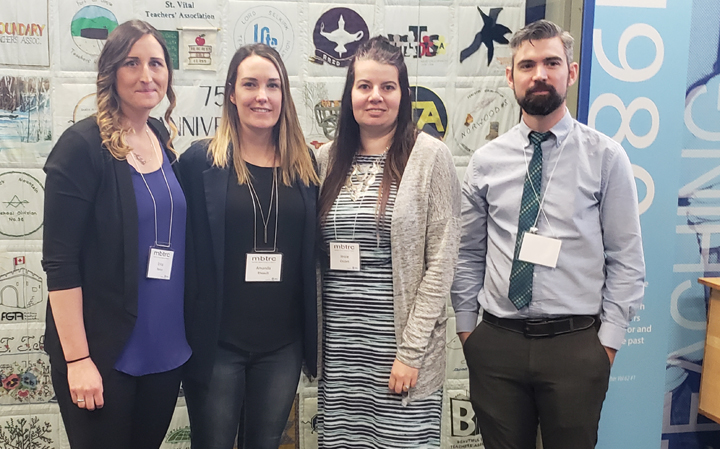 PRSD Teachers present at Manitoba Teacher Research Collective