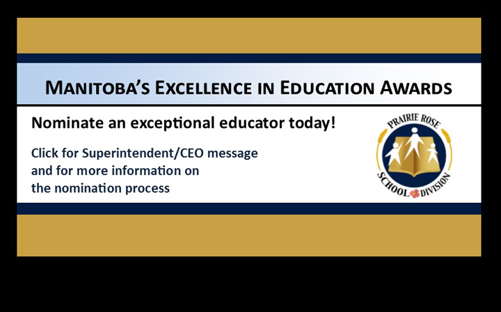 Manitoba Excellence in Education Awards – Nominate an Exceptional Educator!
