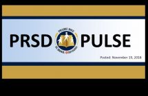 PRSD Pulse Newsletter