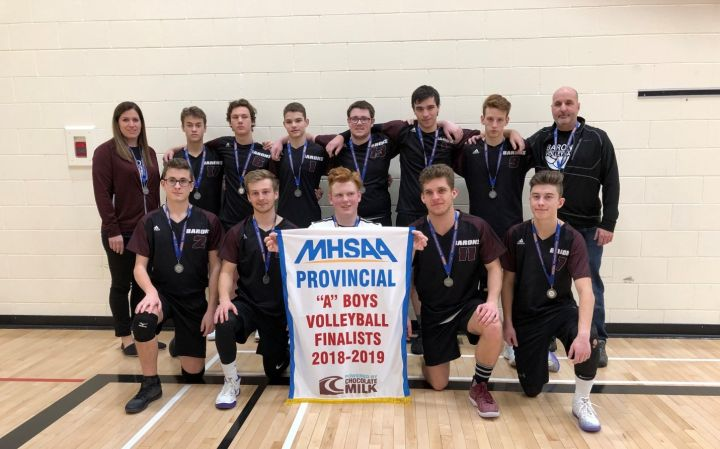 St. Paul's Collegiate Varsity Boys Volleyball Provincial Finalists!