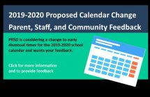 2019-2020 Proposed Calendar Changes