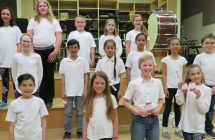 Carman Elementary Grade 4-5 Choir sing with Sonatrice