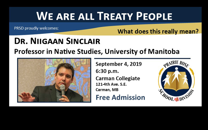 We are all Treaty People – Public Presentation