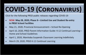 COVID-19 Update May 28, 2020