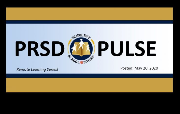 PRSD Pulse – Special Remote Learning Edition – May 20, 2020