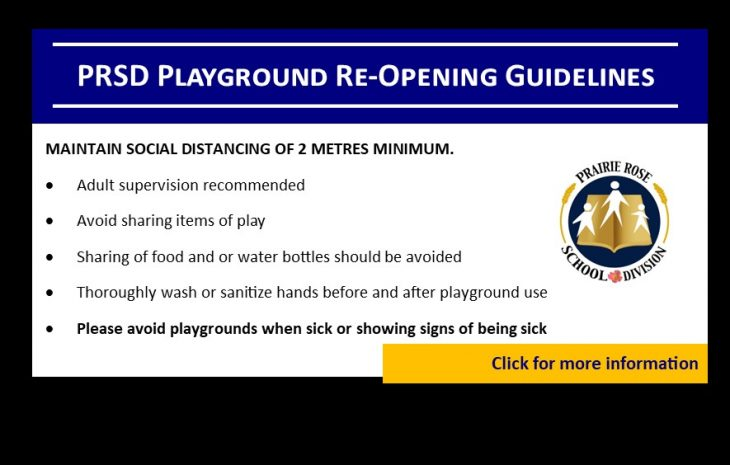 Playground Re-Opening Guidelines
