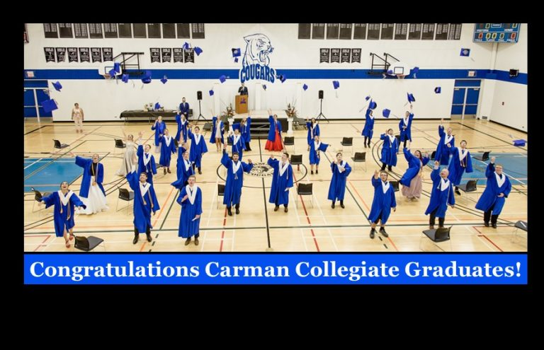 Congratulations Carman Collegiate Grads