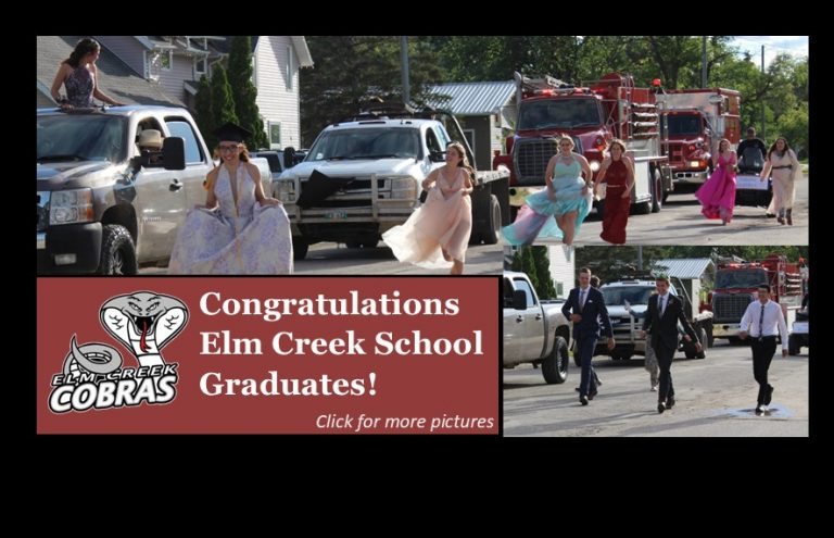 Congratulations Elm Creek School Graduates