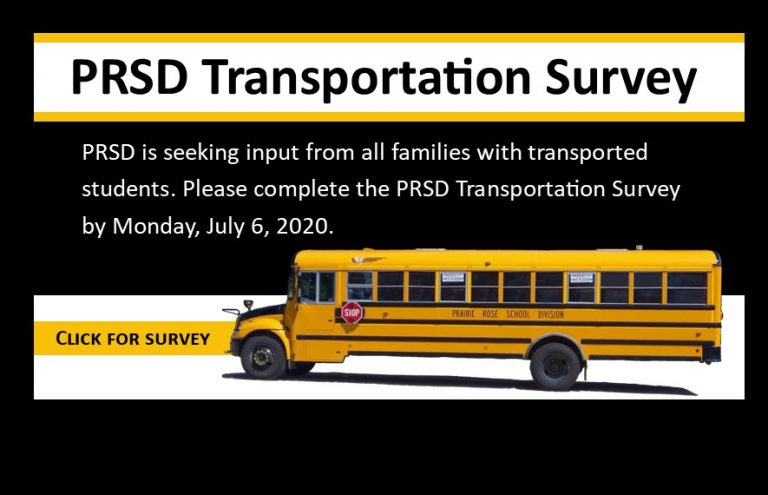 PRSD Transportation Survey