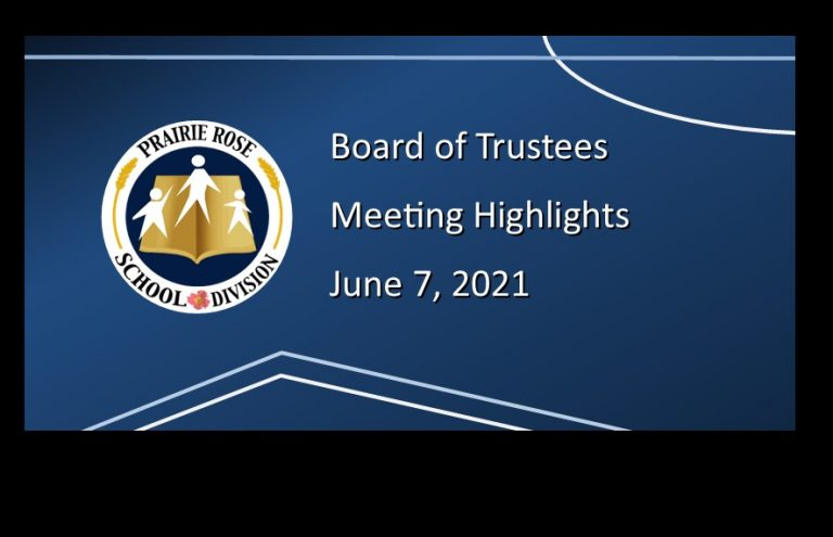 Highlights from the June 7, 2021, Board meeting
