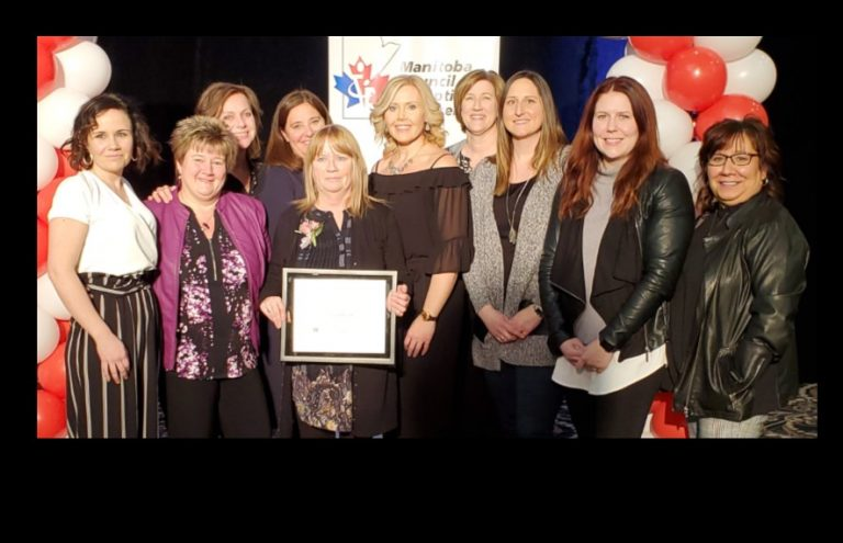 PRSD staff and student receive Yes I Can award