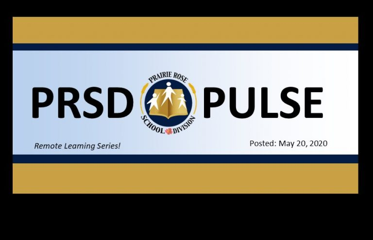 Special Remote Learning Edition - PRSD Pulse