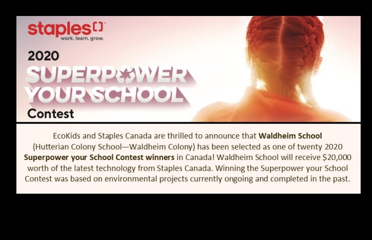 Waldheim announced as superpower your school winner