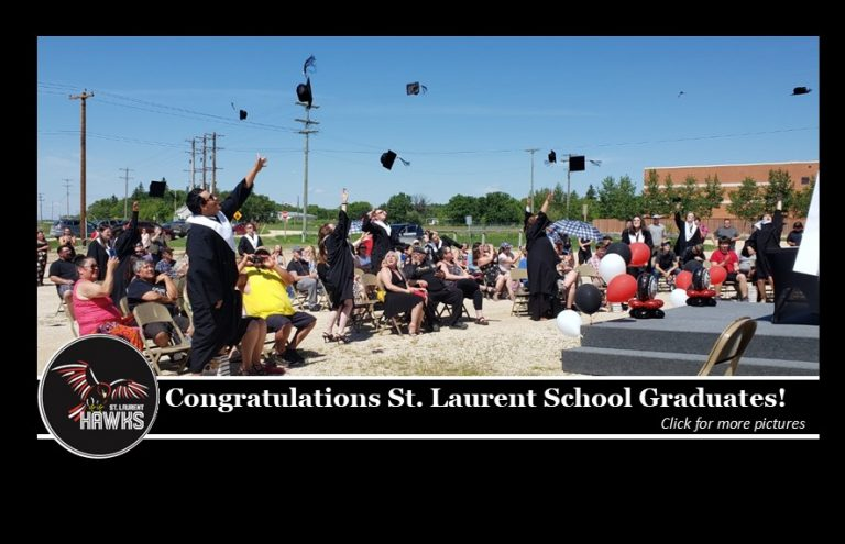 St. Laurent School graduates