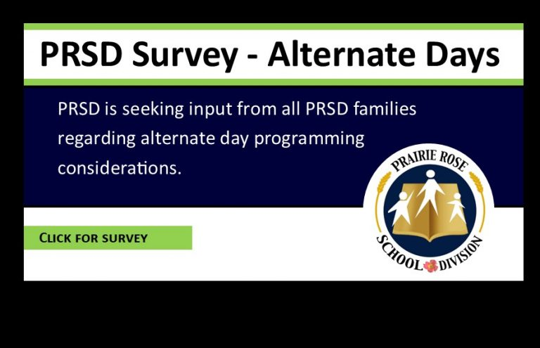 PRSD Survey on alternate school days